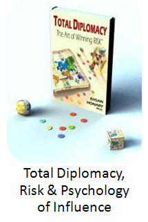 Total Diplomacy, Risk and Psychology of Influence